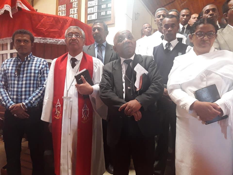 Jobily faha 29 taona niasana an ny Filohan ny SPaFi Pastora RANDRIAMANDIMBISOA Alfred